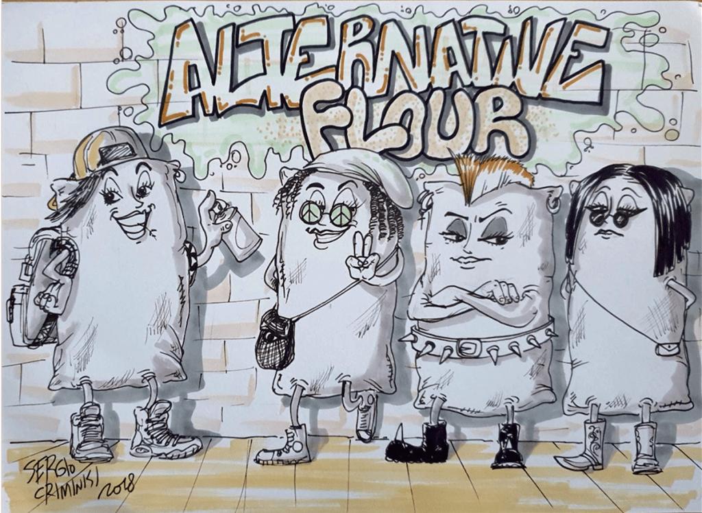 Cresce la richiesta di farine alternative